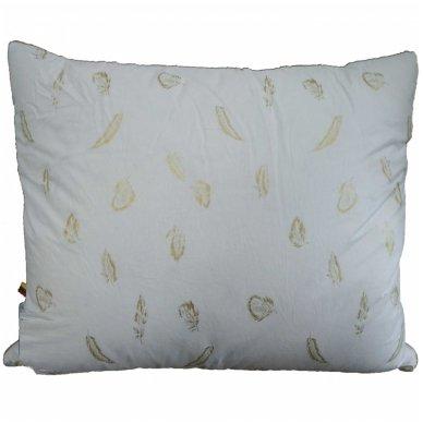 Trijų skyrių žąsų-ančių pūkų pagalvė, 70x70 cm 2