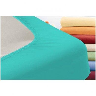Trikotažinė paklodė su guma (turkio) 2