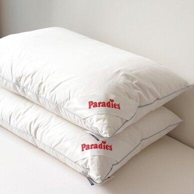 Trisluoksnė Žąsų plunksnų ir pūkų pagalvė TESSA PARADIES , 50x70 cm 2