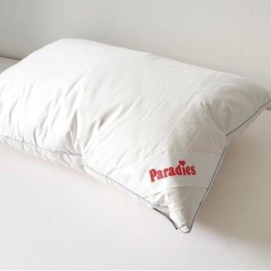 Trisluoksnė Žąsų plunksnų ir pūkų pagalvė TESSA PARADIES , 50x70 cm 3
