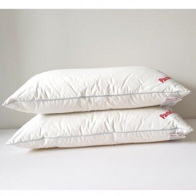 Trisluoksnė Žąsų plunksnų ir pūkų pagalvė TESSA PARADIES , 50x70 cm 5