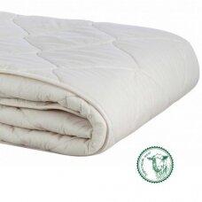Universali antklodė su skalbiamos vilnos užpildu (300 g/m²), 140x200 cm