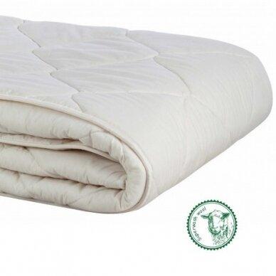 Skalbiamos avių vilnos antklodė SUPERWASH (300 g/m²), 140x200 cm 3