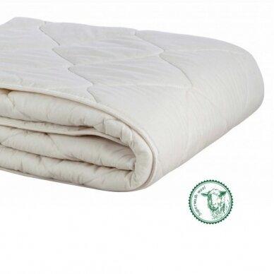 Universali antklodė su skalbiamos vilnos užpildu (300 g/m²), 200x220 cm