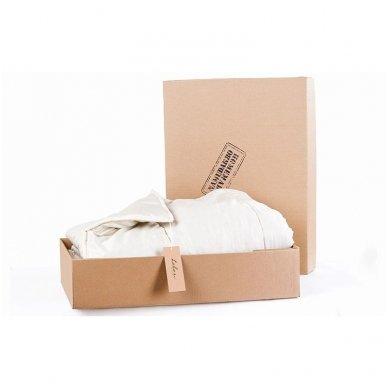Universali rankų darbo su vilnos užpildu antklodė (450 g/m²), 150x200 cm 6