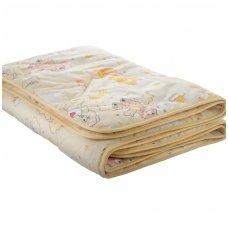 "Vaikiška medvilninė antklodė ""Medvilnė"" 100x135 cm (marga)"