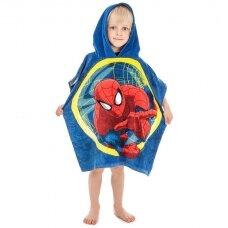 "Vaikiškas rankšluostis ""Spider Men"" (pončo)"