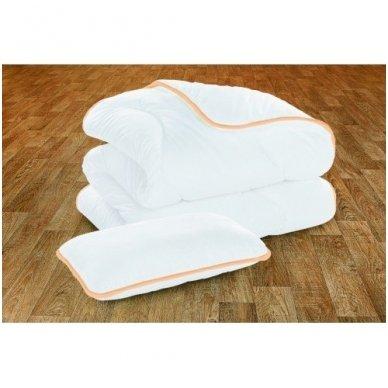 Vaikiškas Organic Baby rinkinys (antklodė ir pagalvė), 100x135 cm 2