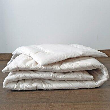 Vaikiškas skalbiamos vilnos rinkinys SUPERWASH (antklodė + pagalvė), 100x135 cm