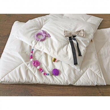 Vaikiškas skalbiamos vilnos rinkinys SUPERWASH (antklodė + pagalvė), 100x135 cm 5