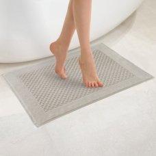 """Veliūrinis Egipto medvilnės vonios kilimėlis """"Paula"""" (rusvas)"""