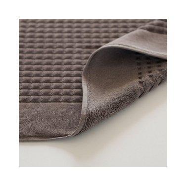 Veliūrinis Egipto medvilnės vonios kilimėlis (rudas) 2