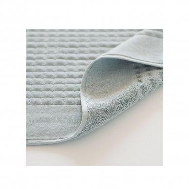 Veliūrinis Egipto medvilnės vonios kilimėlis (šviesiai pilkas) 2