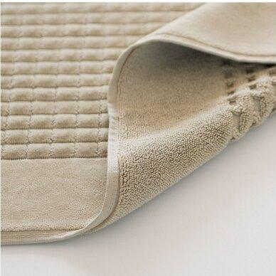 Veliūrinis Egipto medvilnės vonios kilimėlis (smėlio) 2