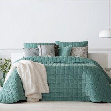 """Velveto lovos užtiesalas """"Marinel Mentol"""", 250x270 cm (metinė)"""