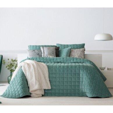"""Velveto lovos užtiesalas """"Marinel Mentol"""", 250x270 cm (metinė) 2"""