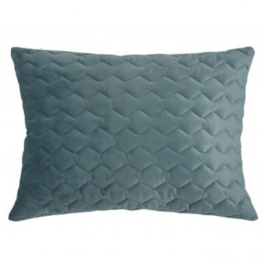 """Velveto lovos užtiesalas """"Naroa Gris"""", 250x270 cm (pilka) (2 užvalkaliukai) 4"""