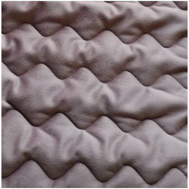 """Velveto lovos užtiesalas """"Naroa Malva"""", 250x270 cm (avietinė) 2"""