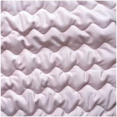"""Velveto lovos užtiesalas """"Naroa Rose"""", 250x270 cm (rožinė) 2"""