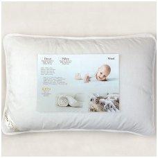 Vilnonė pagalvė vaikui, 40x60 cm