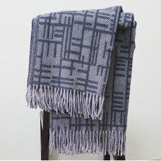 """Vilnonis pledas """"Merino Grey"""", 130x190 cm"""