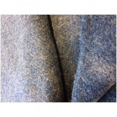 """Vilnonis pledas """"Blue Zelandia"""", 140x200 cm 2"""