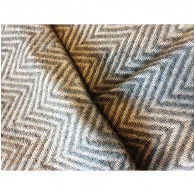 "Vilnonis pledas ""Korsika Grey"", 140x200 cm 3"