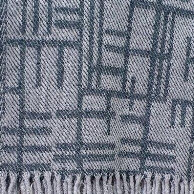 """Vilnonis pledas """"Merino Grey"""", 130x190 cm 2"""