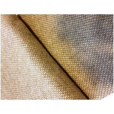 "Vilnonis pledas ""Light Brown Zelandia"", 140x200 cm 3"