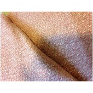 """Vilnonis pledas su kašmyru """"Kuba Pink"""", 140x200 cm 3"""