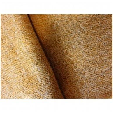 "Vilnonis pledas ""Dark Yellow Zelandia"", 140x200 cm 2"