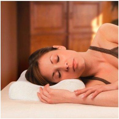 Viskoelastinė ortopedinės formos pagalvė 50x30cm 2