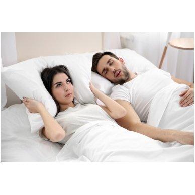 "Viskoelastinė pagalvė ""Knarkimui STOP"", 48x36 cm 3"