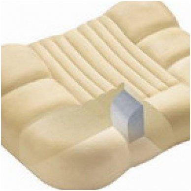 "Viskoelastinė pagalvė ""Knarkimui STOP"", 48x36 cm"