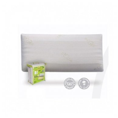 Viskoelastinė (skalbiama) pagalvė, 40x70 cm
