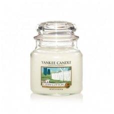 """Yankee Candle kvepianti žvakė """"Clean Cotton"""""""