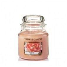 """Yankee Candle kvepianti žvakė """"Peony"""", 411 g."""