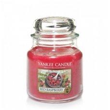 """Yankee Candle kvepianti žvakė """"Red Raspberry"""", 411 g."""
