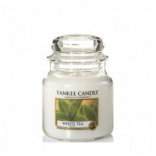 """Yankee Candle kvepianti žvakė """"White Tea"""", 411 g."""