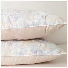Žąsų pūkų ir plunksnų pagalvė (90%-pūkų, 10%-plunksnų), 50x70 cm