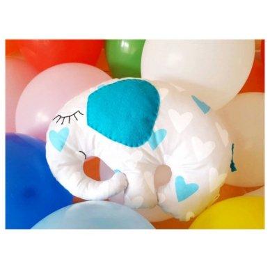 """Žaislas - """"Drambliukas"""" (melsvas) 2"""