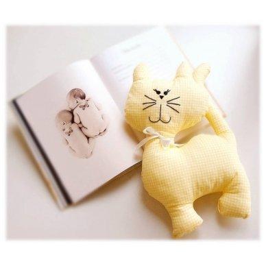 """Žaislas - """"Kačiukas"""" (geltonas) 2"""