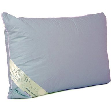 Žąsų plunksnų ir pūkų pagalvė (15%-pūkų, 85%-plunksnų), 50x70 cm 2