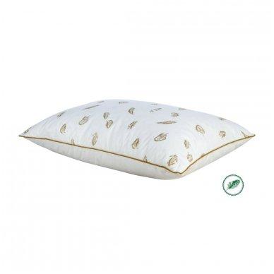 Žąsų plunksnų ir pūkų pagalvė (15%-pūkų, 85%-plunksnų), 60x60 cm