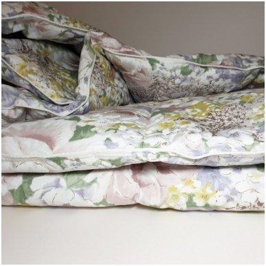 Žąsų pūkų ir plunksnų antklodė (90% pūkai-10% plunksnos), 140x205 cm 4