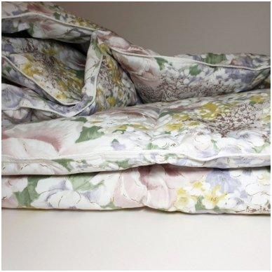 Žąsų pūkų ir plunksnų antklodė (90% pūkai-10% plunksnos), 200x220 cm 4