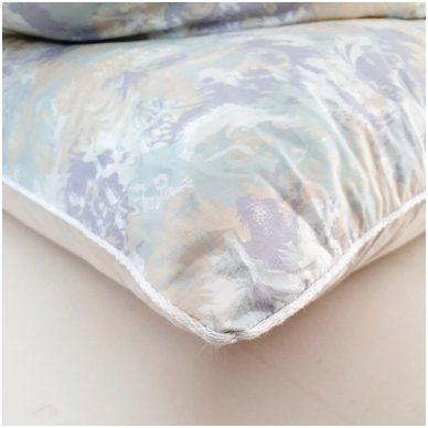 Žąsų pūkų ir plunksnų pagalvė (90%-pūkų, 10%-plunksnų), 50x70 cm 4