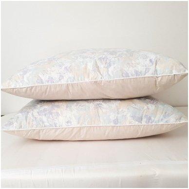 Žąsų pūkų ir plunksnų pagalvė (90%-pūkų, 10%-plunksnų), 50x70 cm 5