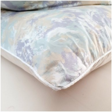 Žąsų pūkų ir plunksnų pagalvė (90%-pūkų, 10%-plunksnų), 68x68 cm 4