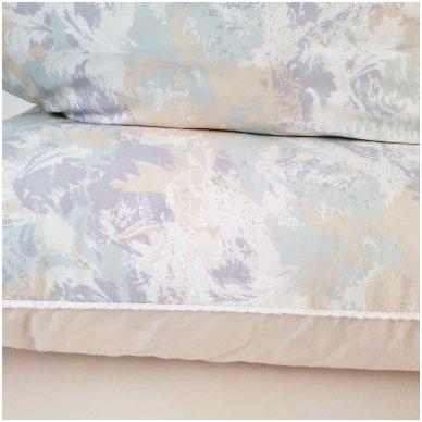 Žąsų pūkų ir plunksnų pagalvė (90%-pūkų, 10%-plunksnų), 68x68 cm 3